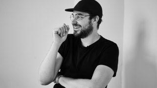 portret Rutger zwart wit